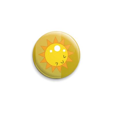 Значок 25мм Sunny