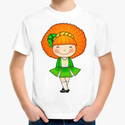 Детская футболка Ирландская девочка