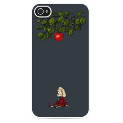 Чехол для iPhone Sir Isaac Newton