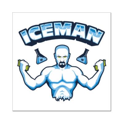 Наклейка (стикер) Iceman