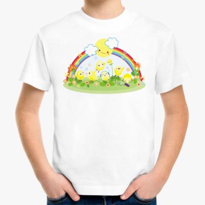 Детская футболка 'Цыплята'