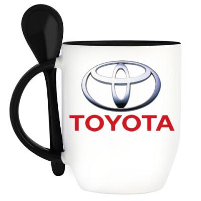 Кружка с ложкой 'Toyota'