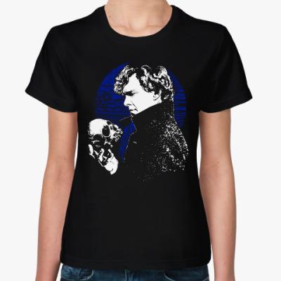 Женская футболка Шерлок (BBC)