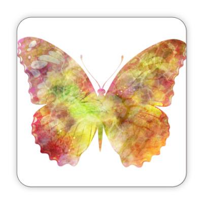 Костер (подставка под кружку) Подставка Бабочка (Butterfly)