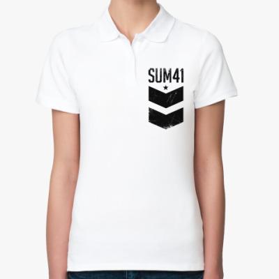 Женская рубашка поло Sum 41
