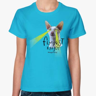 Женская футболка Feminist Killjoy