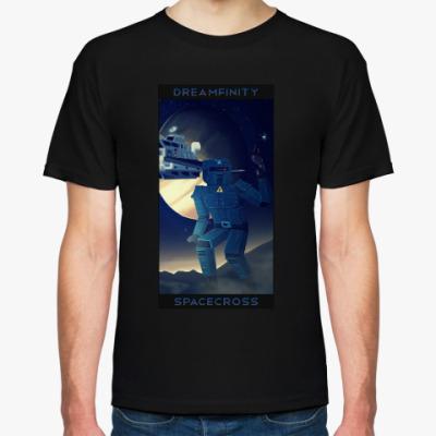 Футболка Dreamfinity Spacecross, черная