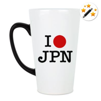 Кружка-хамелеон I love Japan