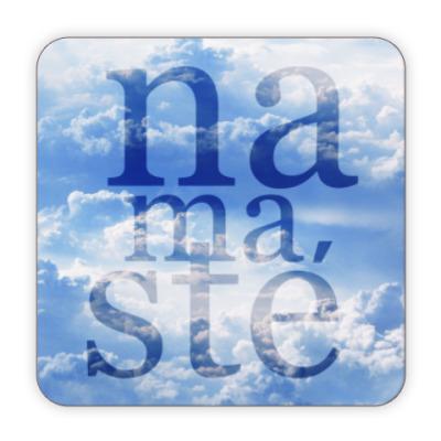 Костер (подставка под кружку) Yoga Namaste