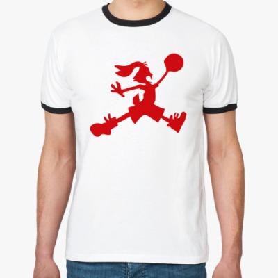 Футболка Ringer-T Jordan Bunny