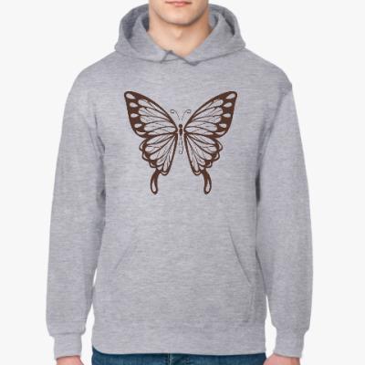 Толстовка худи Бабочка Butterfly