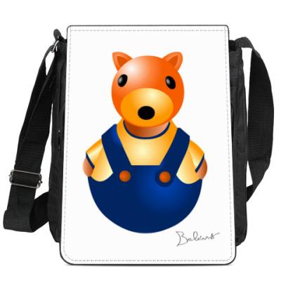 Сумка-планшет Фотя белка фотограф