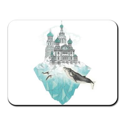 Коврик для мыши Зимний Санкт-Петербург