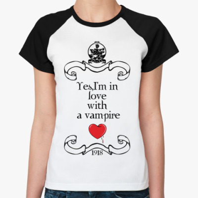 Женская футболка реглан Vamplove