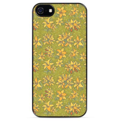 Чехол для iPhone Лилии