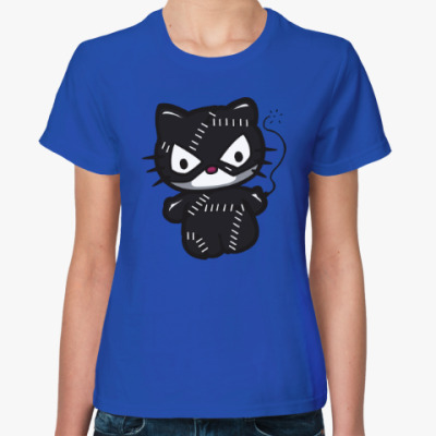 Женская футболка Китти Женщина-кошка