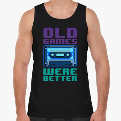 Майка Oldschool games were better