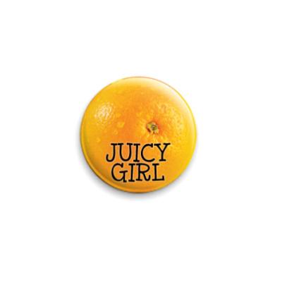 Значок 25мм Juicy girl