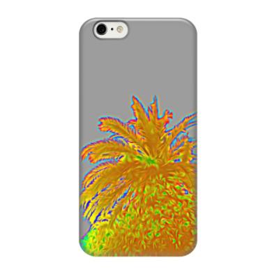 Чехол для iPhone 6/6s Rainbow palm