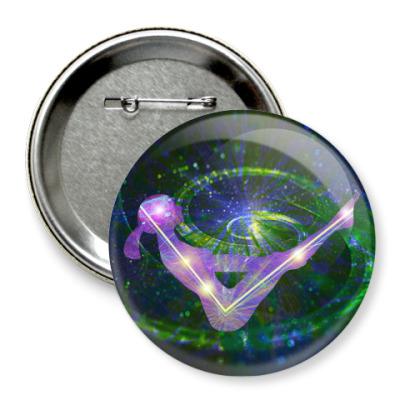Значок 75мм Галактическая Парипурна Наваса