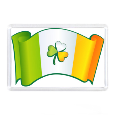 Магнит Ирландский флаг