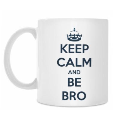 Кружка Keep calm and be bro