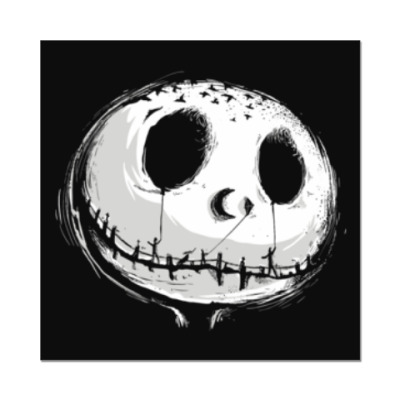 Наклейка (стикер) Ночной кошмар