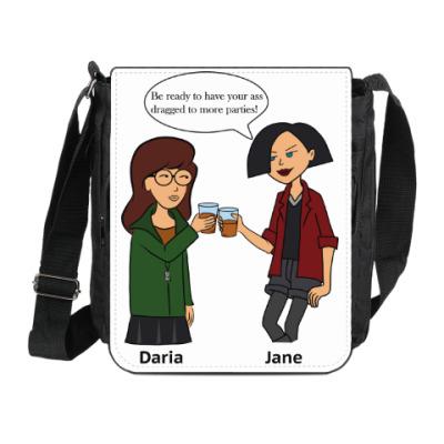 Сумка на плечо (мини-планшет) Daria and Jane