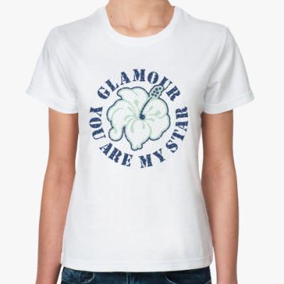 Классическая футболка Glamour