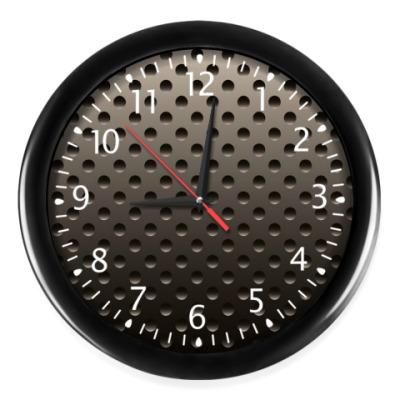 Часы Металлическая плита.