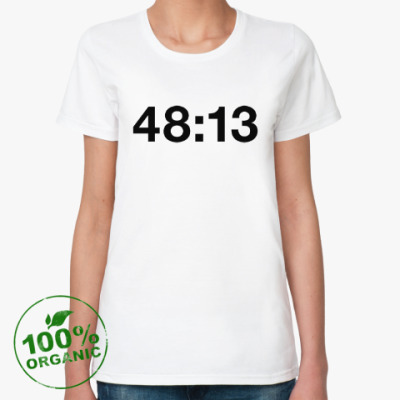 Женская футболка из органик-хлопка kasabian 48:13