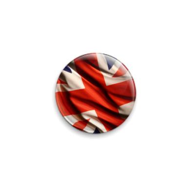 Значок 25мм Британский флаг
