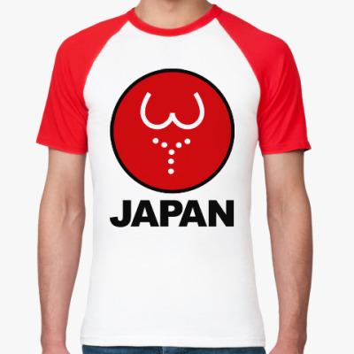 Футболка реглан Японская леди