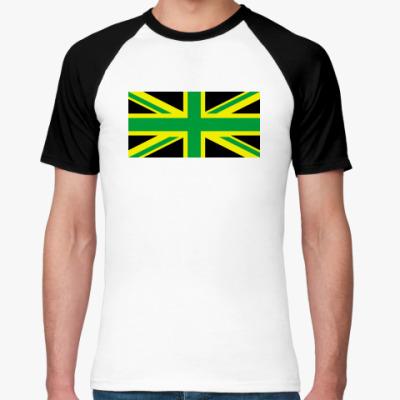 Футболка реглан UK of Jamaica