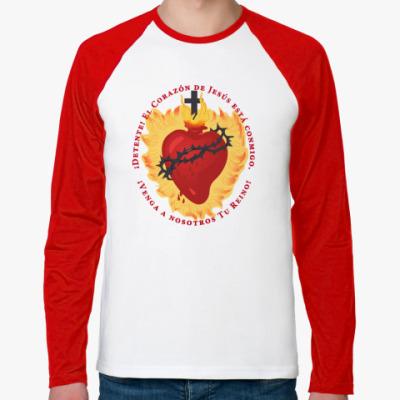 Футболка реглан с длинным рукавом Detente - Sacred Heart
