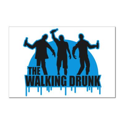 Наклейка (стикер) Ходячие выпивалы