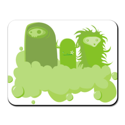 Коврик для мыши  Green Worm