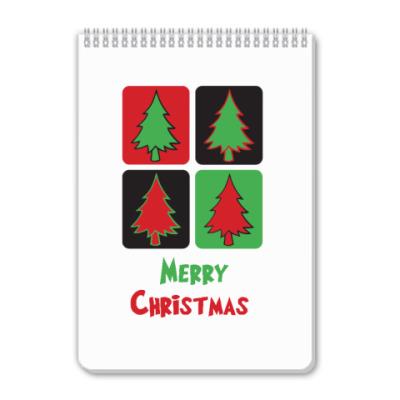 Блокнот MERRY CHRISTMAS