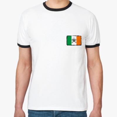 Футболка Ringer-T scull Ireland