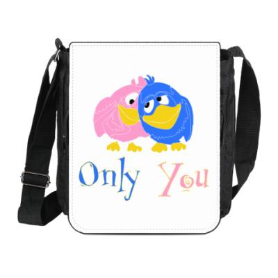 Сумка на плечо (мини-планшет) Only you