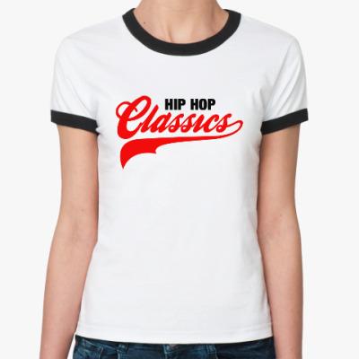 Женская футболка Ringer-T Hip Hop Classics