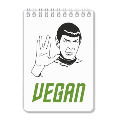 Блокнот Vegan Spock