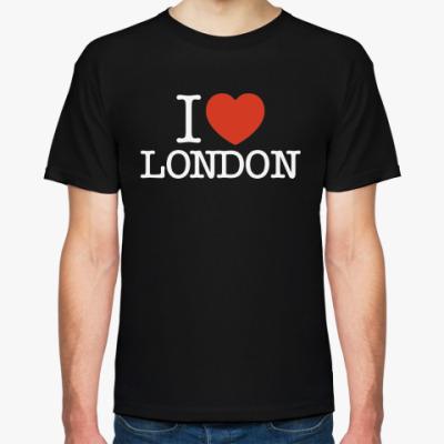 Футболка I love London