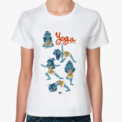 Классическая футболка Shiva's yoga