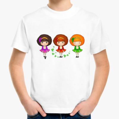 Детская футболка Ирландские девочки