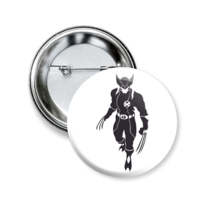 Значок 50мм Wolverine