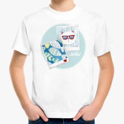 Детская футболка Кото Лето