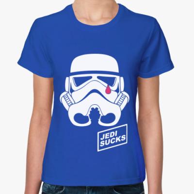 Женская футболка   Jedi