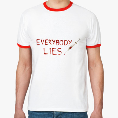 Футболка Ringer-T Everybody Lies