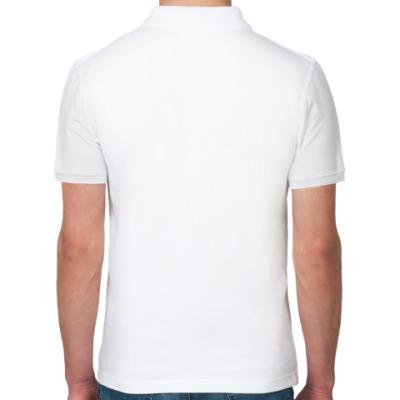 Рубашка поло Мирное небо бел
